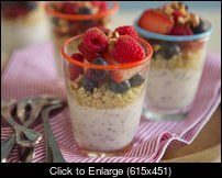Trim Healthy Mama - Berry Breakfast Quinoa (with picture)