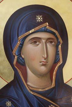 Byzantine Icons, Byzantine Art, Religious Icons, Religious Art, Blessed Virgin Mary, Orthodox Icons, Catholic, Saints, Spirituality