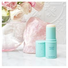 Coconut and Rosehip Oils pair with Noni Fruit and Calendula Extracts to make the Noni Glow Face Balm. Super hydrating, you can glide it on and restore radiance whenever you need ✨ #noniglow  Shop now https://koraorganics.com/products/noni-glow-face-balm