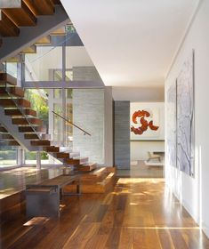Belzberg Architects Group - Brentwood House - Staircase