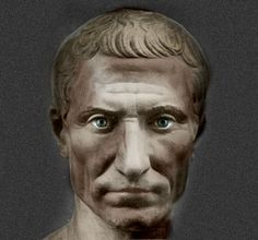 Julius Caesar - I'm not sure I like the eyes painted in but it is more animated than others with the eyes left blank. I am fascinated by this historic figure because he accomplished so much in his short life.