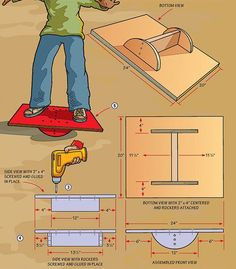 This easy-to-build training gear will prepare you for rocky trails. This easy-to-build training gear will prepare you for rocky trails. The post This easy-to-build training gear will prepare you for rocky trails. appeared first on Woodworking ideas. Kids Woodworking Projects, Wood Projects For Kids, Wood Projects For Beginners, Wood Working For Beginners, Woodworking Tips, Project Ideas, Popular Woodworking, Woodworking School, Woodworking Workshop