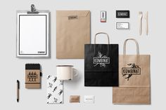 KOMBINAT CAFE & RESTAURANT LOGO DESIGN on Behance