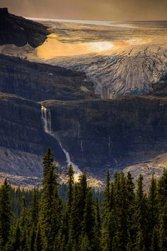 Bow glacier falls, Alberta, Canada