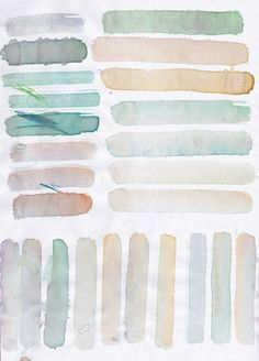 light watercolors