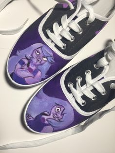 Amethyst Shoes by ShoesbySues on Etsy