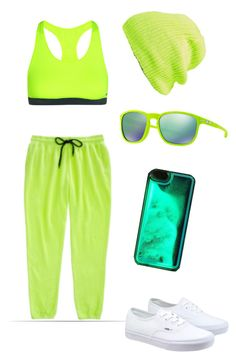 """Glow & the dark"" by alilyfe on Polyvore featuring NIKE, Vans, Public Opinion, Oakley, women's clothing, women's fashion, women, female, woman and misses"