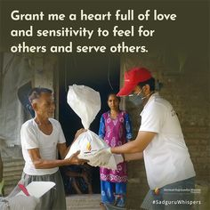 Grant me a heart full of love and sensitivity to feel for others and serve others. Serving Others, Sensitivity, Spiritual Quotes, Booklet, Quote Of The Day, Love Quotes, Prayers, Feelings, Heart