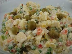 Brazilian Potato Salad. Something different in the potato salad genre...includes potatoes, apples, carrots, peas.