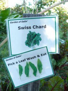 Harvesting instructions