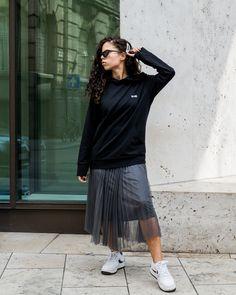 EHE Apparel black unisex hoodie with embroidered logo. Slow Fashion, Black Hoodie, Midi Skirt, Street Wear, Unisex, Hoodies, Logo, Skirts, Shopping
