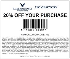 photograph relating to American Eagle Coupons Printable referred to as Coupon code higher education outfitters - Sony vaio coupon codes f collection