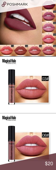 Long lasting matte lip color !! 3 shades of these amazing things! Last for hours and hours and hours Makeup Lipstick