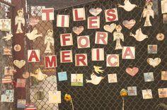 Tiles for America, 9/11, memorial, Meatpacking District