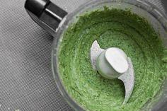 High Protein & Oil Free Basil Pesto