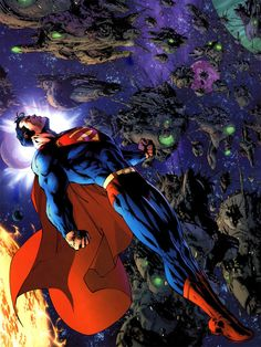 "league-of-extraordinarycomics: ""Superman - Jim Lee """