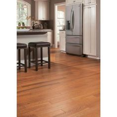 LOVE Home Legend Hand Scraped Oak Gunstock 3/8 in.Thick x 4-3/4 in.Wide x 47-1/4 in. Length Click Lock Hardwood Flooring(24.94 sq.ft./cs)-HL16H at The Home Depot