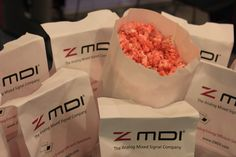 Pink Popcorn anyone?   ZMDI at Sensors 2014