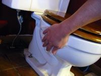 In this article I will teach you how to clean a toilet using plain old white vinegar. Speed Cleaning, Cleaning Hacks, Cleaning Products, Natural Cleaners, Toilet Cleaning, White Vinegar, Cleaning Solutions, Housekeeping, Clean House