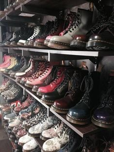 grunge shoes | Tumblr #gothclothes #grunge #shoes #martens #vintage