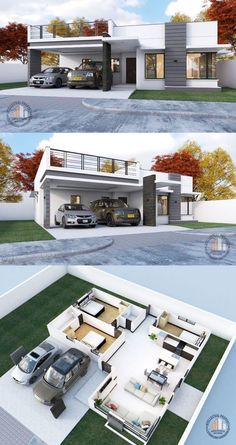 Have you been dreaming to buy or build a house lately? Do you already have a concept of how your house would be like? Do you have a particular design or style that you would [. Small Modern House Plans, Sims House Plans, Beautiful House Plans, House Layout Plans, House Layouts, Modern Bungalow House Plans, Bungalow Floor Plans, Simple House Design, Minimalist House Design