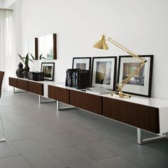 Seattle 3-Drawer Credenza, Seattle Cabinets & Calligaris Cabinets | YLiving