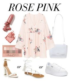 Designer Clothes, Shoes & Bags for Women Laqa & Co, Pink Themes, Bobbi Brown, Maybelline, Pink Roses, Mango, Cosmetics, Shoe Bag, My Style