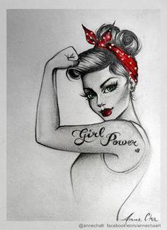 Love the black and white stencil..