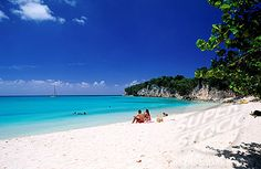 marie galante island | ... French West Indies, Marie_Galante island, the beach of Anse Carnot