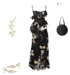 """""""Sin título #2589"""" by paolabw ❤ liked on Polyvore featuring Brock Collection, Manolo Blahnik, Rachel Comey and Pier 1 Imports"""