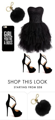 """""""Outfit"""" by jimmyrialove on Polyvore featuring Christian Louboutin and MICHAEL Michael Kors"""