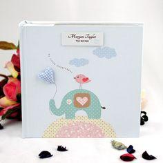 Personalised Blue Baby Elephant  Album
