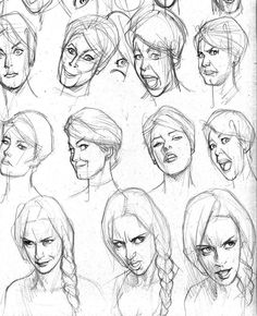 Pin by peter sam on character design in Character Design Challenge, Character Design Cartoon, Character Sketches, Character Design References, Drawing Heads, Drawing Poses, Drawing Sketches, Art Drawings, Drawing Drawing