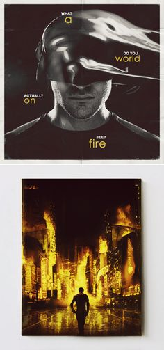 Daredevil: A world on fire.