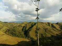 Montañas vistas desde miravalles valle del cauca colombia