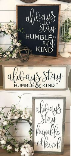 The perfect Farmhouse style sign for my entryway, love it! #affiliatelink #farmhousestyle #rusticdecor #inspirational #signs