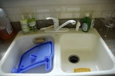 How to Repair a Porcelain Kitchen Sink