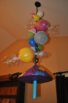 Willy Wonka and the Chocolate Factory Birthday Party Ideas | Photo 8 of 33 | Catch My Party