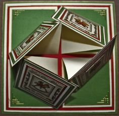 Christmas Quad Twisted Easel Card