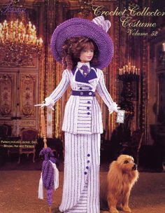 Barbie, Crochet Collector Costume Vol. 52 pattern http://knits4kids.com/collection-en/library/album-view?aid=2160&l=en&series=822&code=en#foobox-1/0/ocean%20voyage%20FC.jpg?imgmax=800