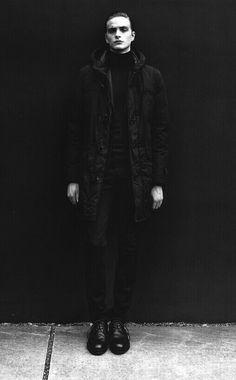 black&white, boy, fashion, dark, black