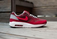 "Nike Air Max 1 Jacquard ""Gym Red"" - EU Kicks: Sneaker Magazine"
