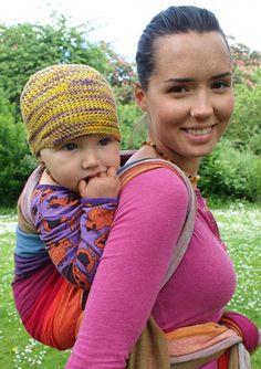 dfeef2c2ad5 Girasol Earthy Rainbow — Granola Babies Woven Wrap