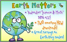 With Earth Day & Arbor Day coming-up... what better way to go green than to go digital?!?  We hope that our featured products & SALES will help you feel inspired to do some Earth Day projects & craft with care... because our Earth Matters! Sales and freebie available until April 15, 2015.