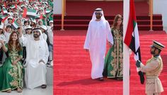 Sheikh Mohammed rings in Flag Day with his youngest daughter