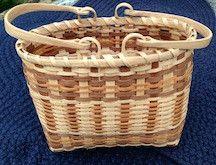 Beautiful white oak basket in traditional Cherokee style