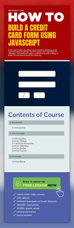 Navigation With jQuery UI Web Design, jQuery UI Web Design, jQuery - credit card form