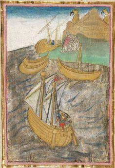 Albrecht : Jüngerer Titurel (2. Teil, ab Str. 2822) 1. Hälfte 15. Jh. Cgm 8470 Folio 512