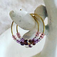 Cuff Bracelets, Charmed, Beads, Earrings, Instagram, Jewelry, Beading, Ear Rings, Stud Earrings
