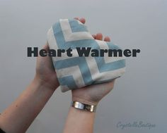 Rice Heart Warmer (for goodnights, for going away, for sickies, for friends)